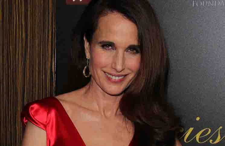 Andie MacDowell - 39th Annual Gracie Awards