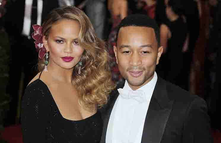 Chrissy Teigen and John Legend - MET Gala