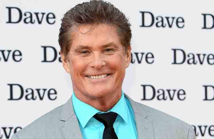 "David Hasselhoff - ""Hoff the Record"" TV Series UK Premiere"