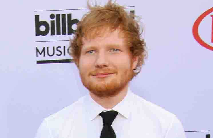 "Ed Sheeran 2015 bei den ""Billboard Music Awards"""