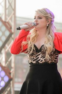"Meghan Trainor in Concert on NBC's ""The Today Show"" at Rockefeller Plaza"