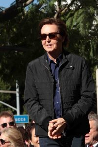 Paul McCartney Honored with a Star on the Hollywood Walk of Fame