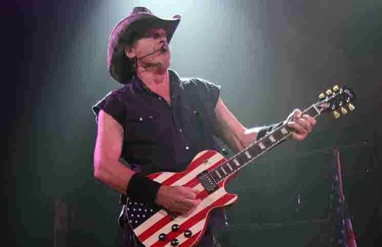 Ted Nugent in Concert at House of Blues in Los Angeles