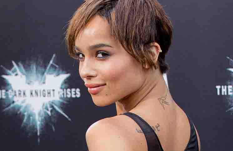 "Zoe Kravitz - ""The Dark Knight Rises"" World Premiere"