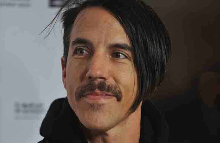 Anthony Kiedis bei der Weltpremiere von The Announcement