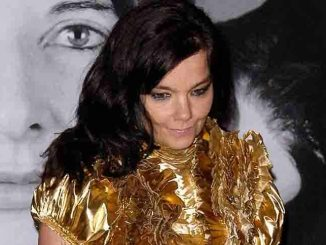 "Björk - Givenchy Celebrates Marina Abramovic's ""The Artist is Present"" Closing at the Museum of Modern Art"