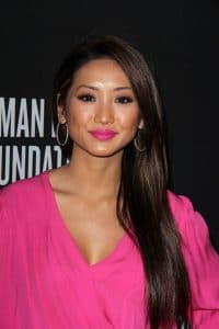Brenda Song - Pink Party 2013 Arrivals