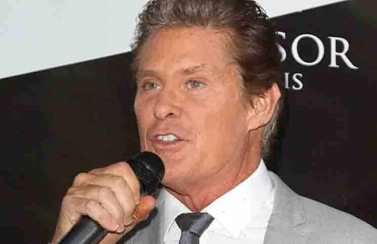 David Hasselhoff - Tresor Paris Store UK Launch Event