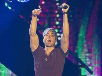 Enrique Iglesias in Concert at the Barclaycard Center in Madrid