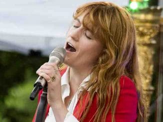 "Florence Welch on ABC's ""Good Morning America"" Summer Concert Series"