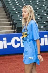 Gigi Hadid - 2014 Minor League Baseball