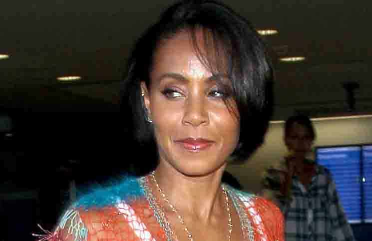 Jada Pinkett Smith Sighted Arriving at LAX Airport on June 4, 2015