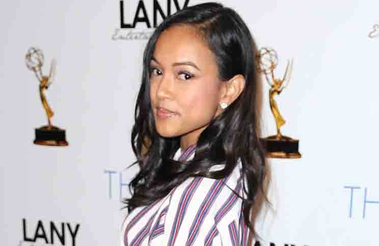 "Karrueche Tran - ""The Bay"" Official 2015 Pre-Emmy Celebration - Arrivals"