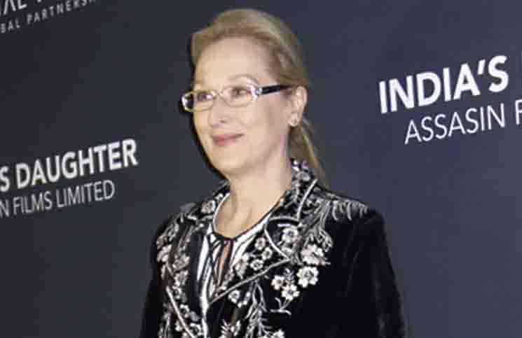 "Meryl Streep - ""India's Daughter"" New York City Screening"