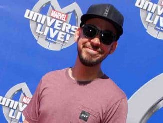 Mike Shinoda, - Super Heroes and Hollywood Stars Unite on the Red Carpet
