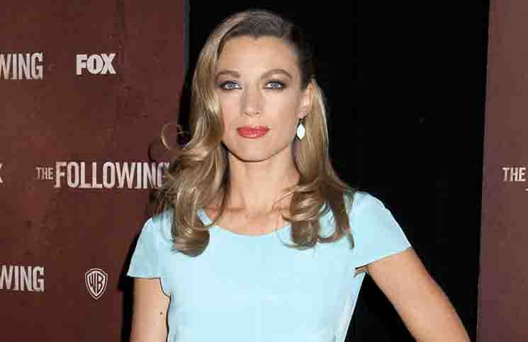 "Natalie Zea - ""The Following"" TV Series World Premiere"