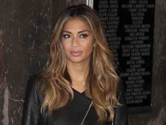 Nicole Scherzinger Light the Empire State Buidling in Celebration of Red Nose Day USA