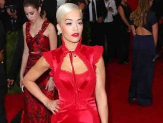 "Rita Ora - ""China: Through The Looking Glass"" Costume Institute Benefit Gala"