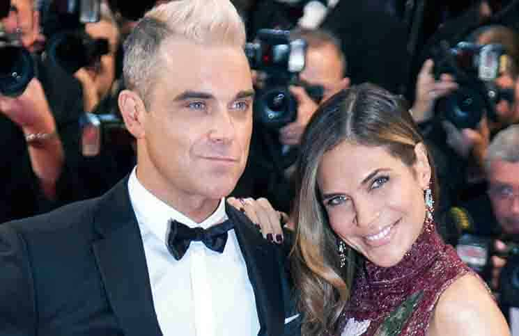 Robbie Williams und Ayda Field: Fashion-Fauxpas - Promi Klatsch und Tratsch