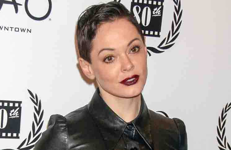 Rose McGowan - 2014 New York Film Critics Circle Awards