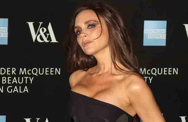 "Victoria Beckham - ""Alexander McQueen: Savage Beauty"" Exhibition Private View"