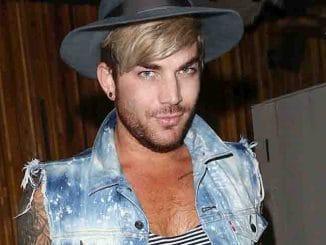 Adam Lambert Sighted Departing Nice Guys Nightclub in Hollywood on July 6, 2015