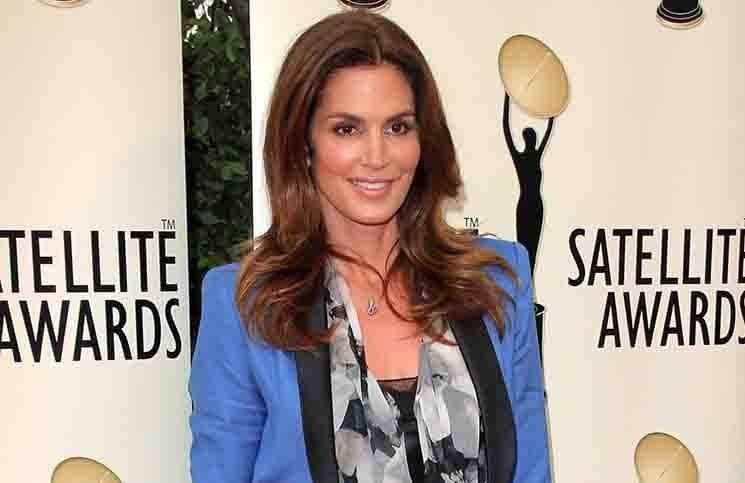 Cindy Crawford - 2012 International Press Academy of Beverly Hills' Satellite Awards