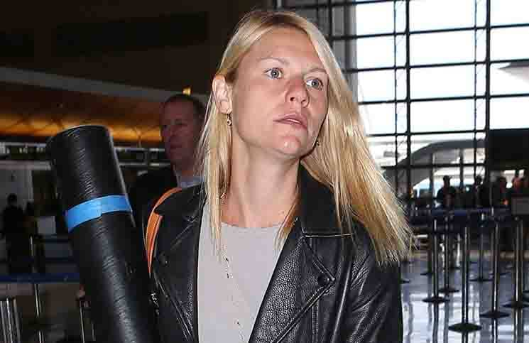 Claire Danes and Hugh Dancy Sighted Arriving at LAX Airport on May 21, 2015