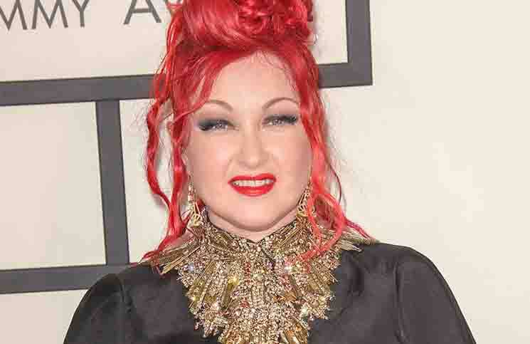 Cyndi Lauper - 56th Annual Grammy Awards