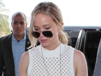 Jennifer Lawrence Sighted Arriving at LAX on May 1, 2015