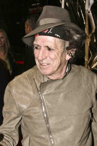 "Keith Richards - ""Sweeney Todd: The Demon Barber of Fleet Street"" New York Premiere"