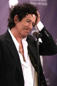 Keith Richards - 22nd Annual Rock and Roll Hall of Fame Induction Ceremony