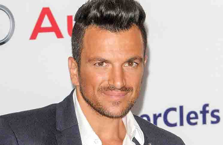 Peter Andre - 39th Annual Nordoff Robbins 02 Silver Clef Awards