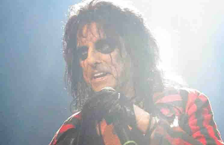 Alice Cooper in Concert at Rod Laver Arena in Melbourne - May 13, 2015