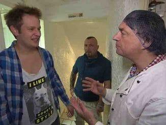 Fabrizio (Mitte), Ole (li.) und Helge (re.) bei Berlin Tag und Nacht