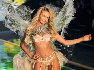 Candice Swanepoel - 2014 Victoria's Secret Fashion Show