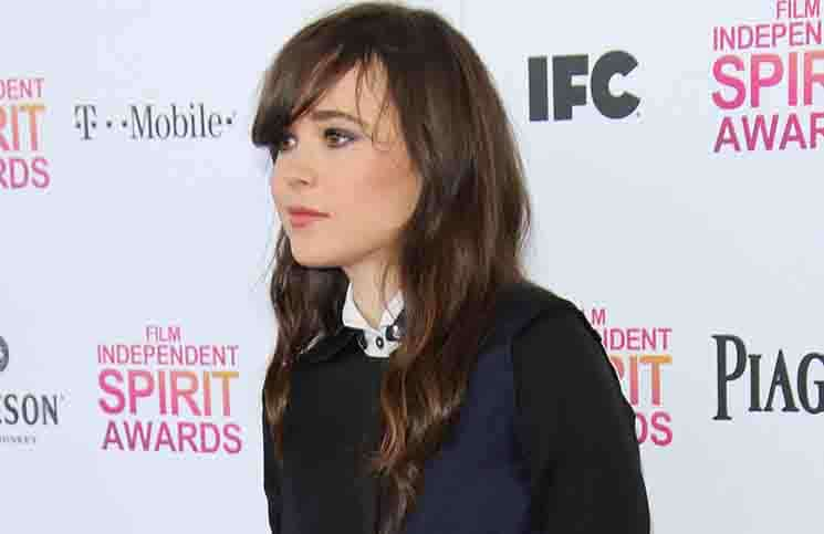 Ellen Page - 2013 Film Independent Spirit Awards