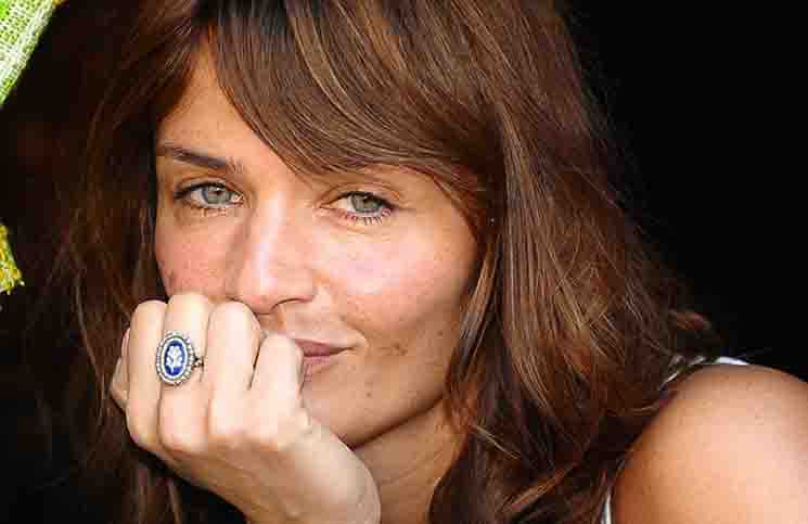 "Helena Christensen - ""Save the Beach"" at Castel Sant' Angelo in Rome on June 4, 2010"