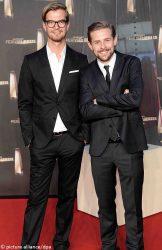 Joko Winterscheidt (l) and Klaas Heufer-Umlauf - German Television Award