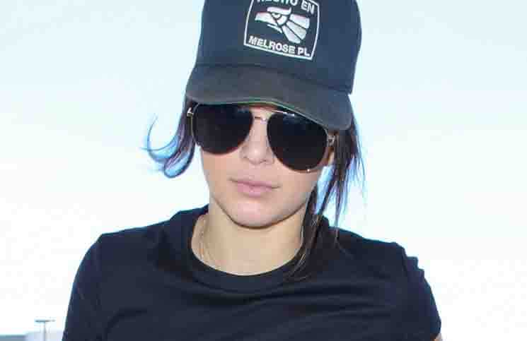 Kendall Jenner Sighted Arriving at LAX Airport on August 5, 2015