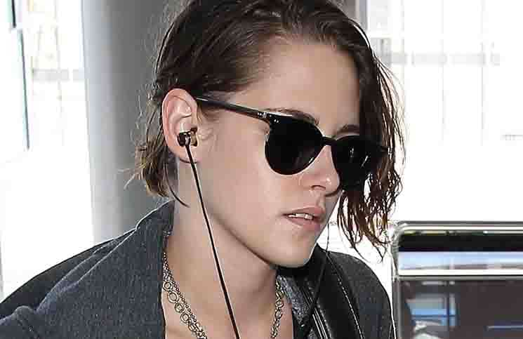 Kristen Stewart Sighted at LAX Airport on July 19, 2015