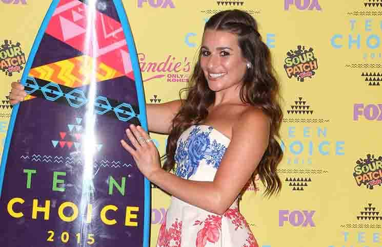 Lea Michele - Teen Choice Awards 2015