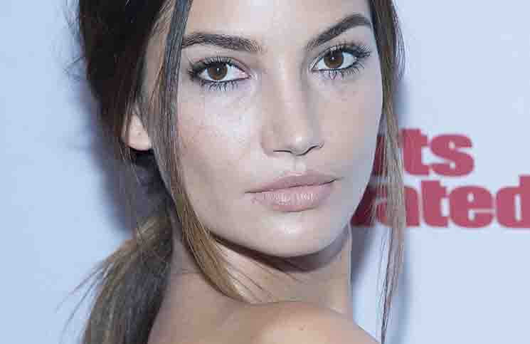 Lily Aldridge - 2015 Sports Illustrated Swimsuit Celebration in New York City