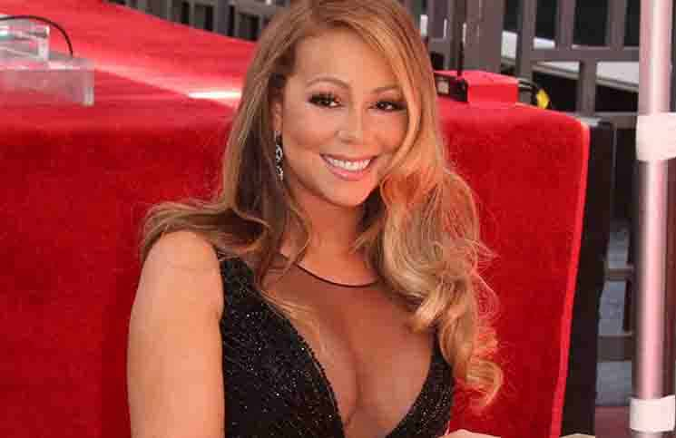 Mariah Carey Honored with a Star on the Hollywood Walk of Fame