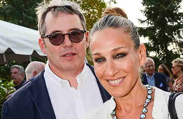 Matthew Broderick - Sarah Jessica Parker - Great Chef's Dinner