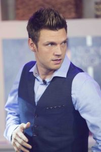 Nick Carter - Nick Carter and Jordan Knight Visit The Marilyn Denis Show in Toronto