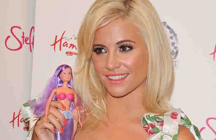 "Pixie Lott - ""Steffi Love by Pixie Lott: Magical Dreams"" Fashion Doll Range Photocall"