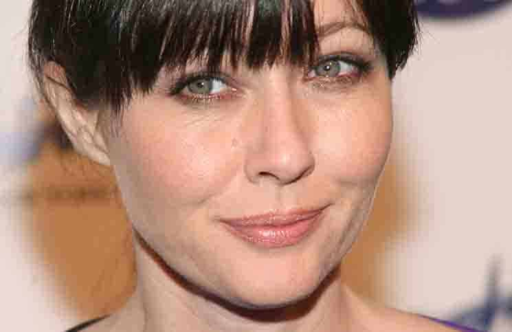 Shannen Doherty - Sapphire NY Gentlemans Club & Prime 333 Steakhouse Grand Opening