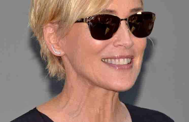 Sharon Stone - 19th Annual Actors Fund's Tony Awards Viewing Party