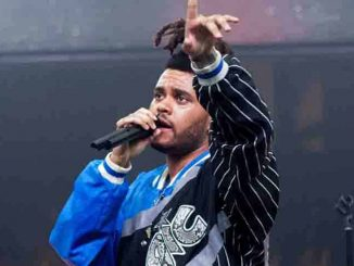 The Weeknd in Concert at Drai's Night Club in Las Vegas